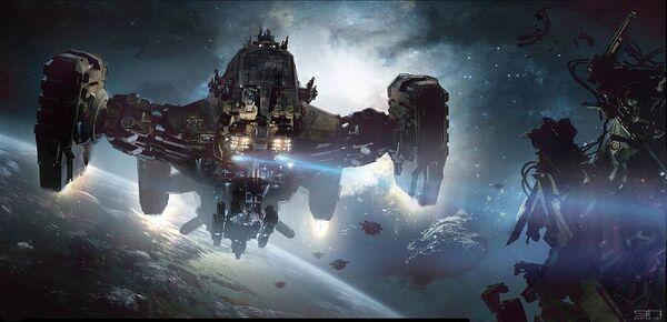 Bild des Raumschiffs Reclaimer