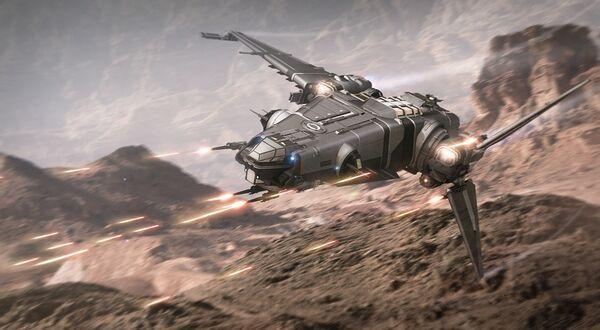 Bild des Raumschiffs Corsair