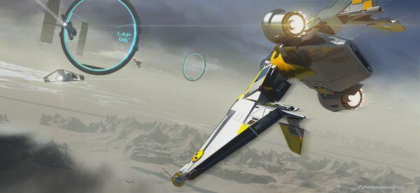 Bild des Raumschiffs Reliant Mako