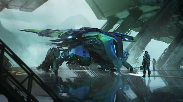 Bild des Raumschiffs Talon Shrike