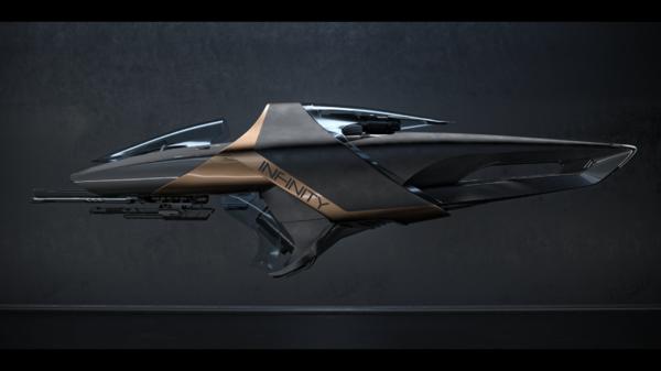 Bild des Raumschiffs X1 Force