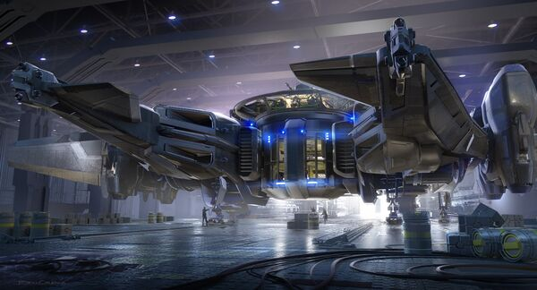 Bild des Raumschiffs Crucible