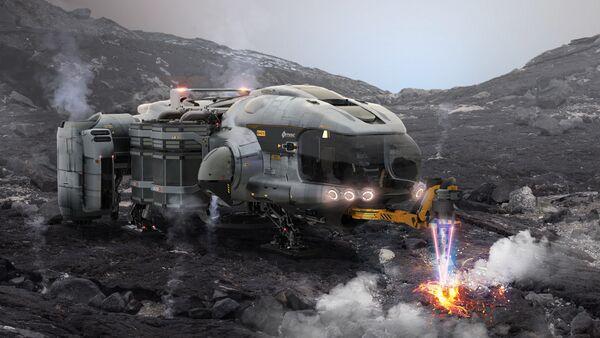 Bild des Raumschiffs Prospector