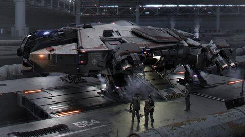 ANVL Terrapin gelandet in Hangar.jpg