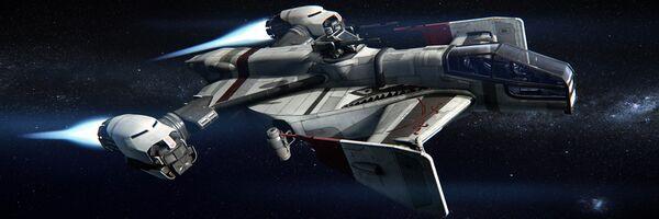 Bild des Raumschiffs Cutlass Black