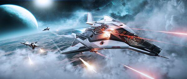 Bild des Raumschiffs Arrow
