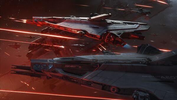 Bild des Raumschiffs Nautilus