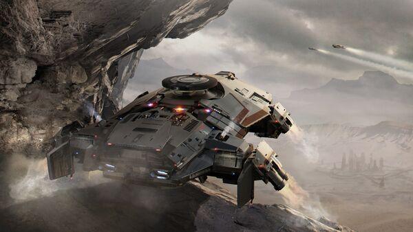 Bild des Raumschiffs Terrapin
