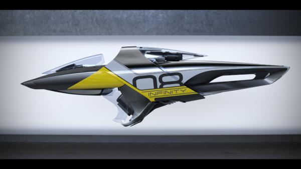 Bild des Raumschiffs X1 Velocity