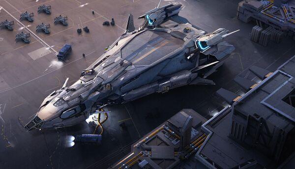 Bild des Raumschiffs Polaris